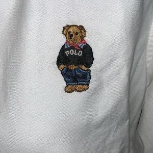 Tops - Women's Polo Bear Button Down
